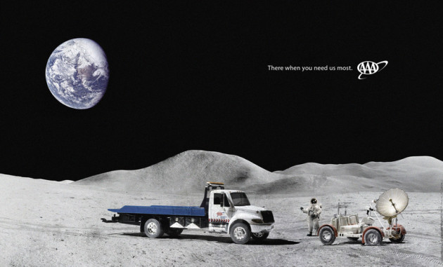 AAA on the moon